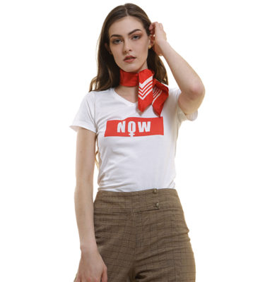 col-v-now-t-shirt-blanc