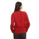 dos-sweat-shirt-snob-rouge