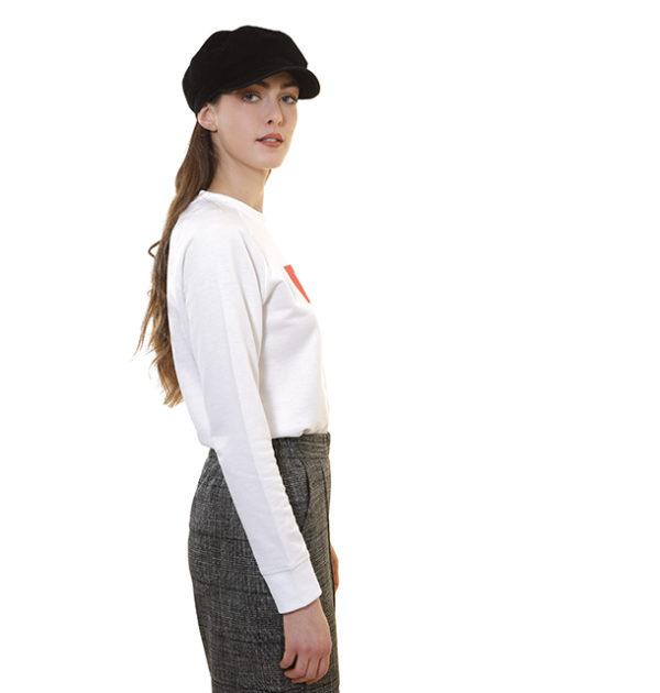 sweat-shirt-now-blanc-léger