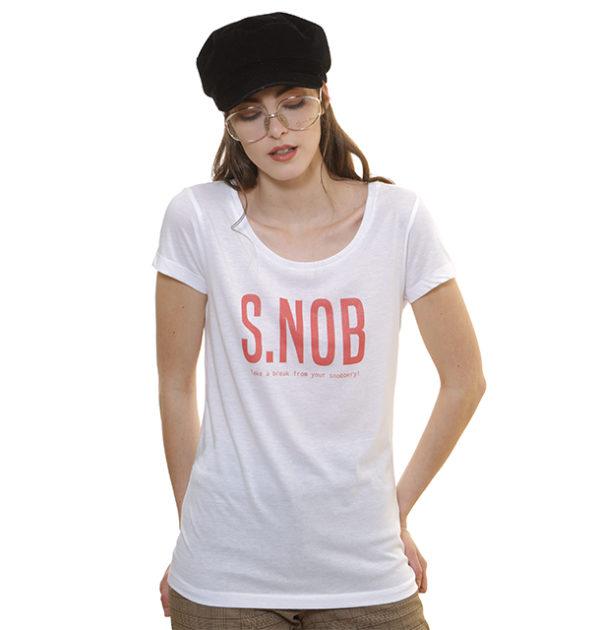 col-large-tshirt-snob-blanc