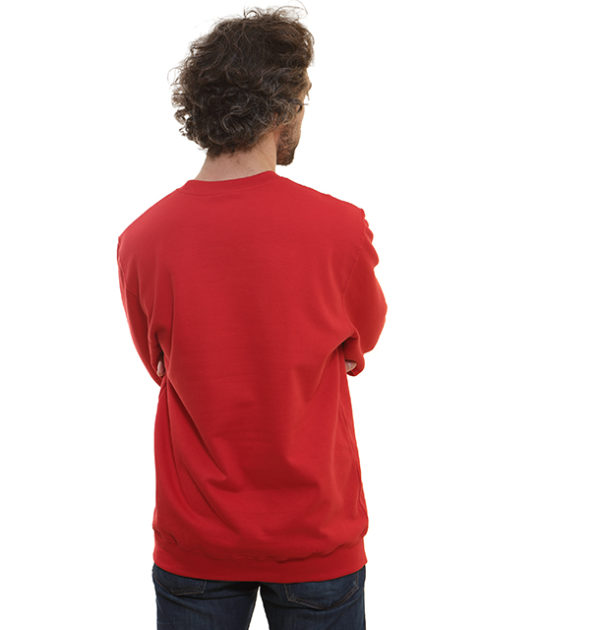 sweat-homme-rouge-dos