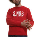 sweat-shirt-homme-snob-rouge