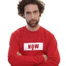 rouge-sweat-shirt-unisexe