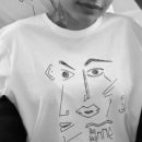 T-shirt-blanc-T-shirt Guillaume&Laurie blanc-femme