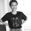 coupe-unisexe-féminin-T-shirt Guillaume & Laurie noir