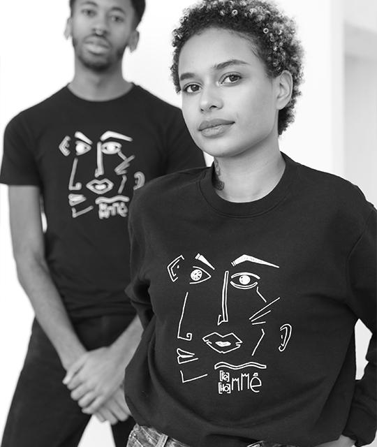 leonor-roverso-sweat-tshirt-noir-artistique-féministe