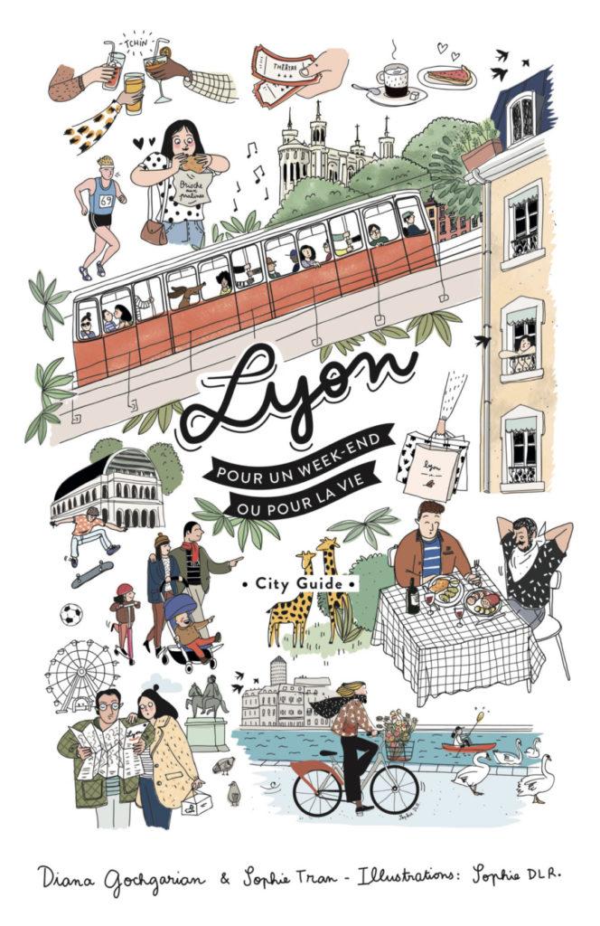 Affiche du city guide lyon une Guide touristique de Lyon