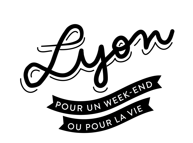 Logo noir de city guide lyon pour un weekend ou pour la vie