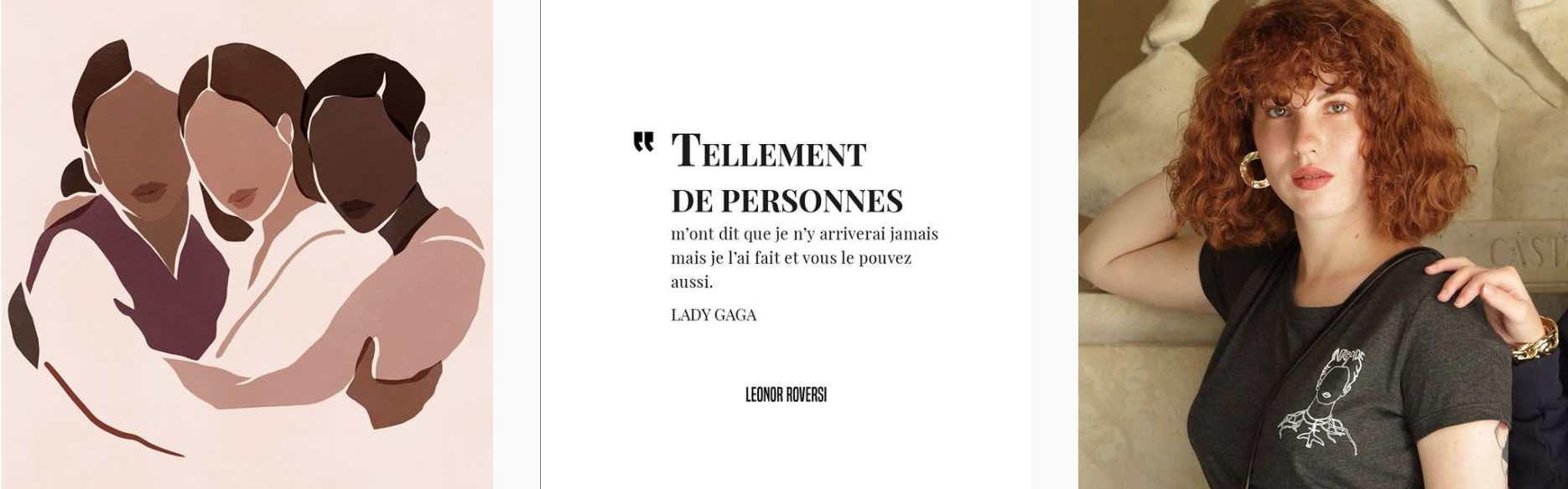 Images de l'instagram de Leonor Roversi