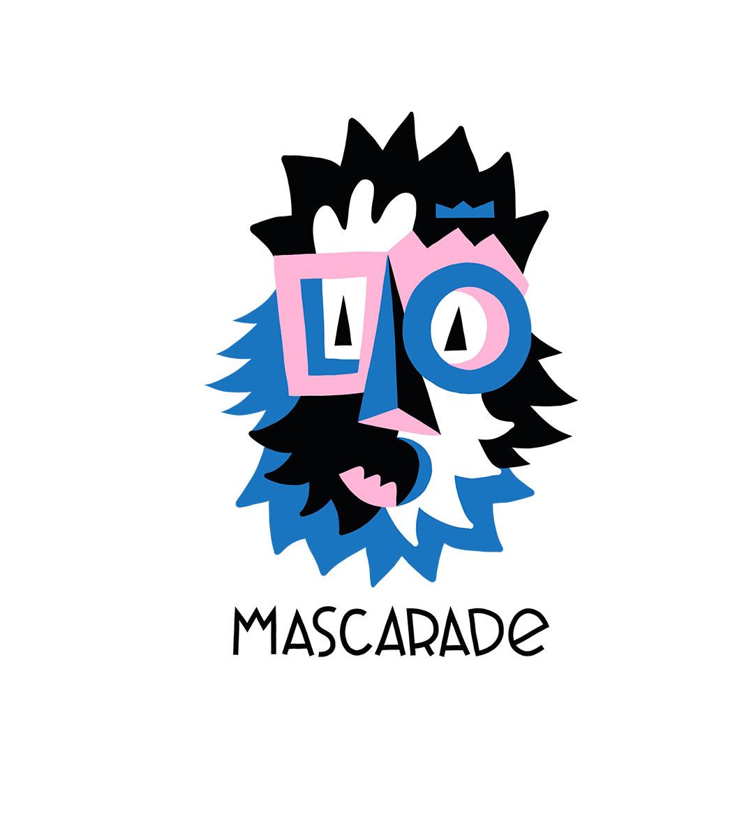 visuel bleu mascarade leonor roversi et guillaume et laurie