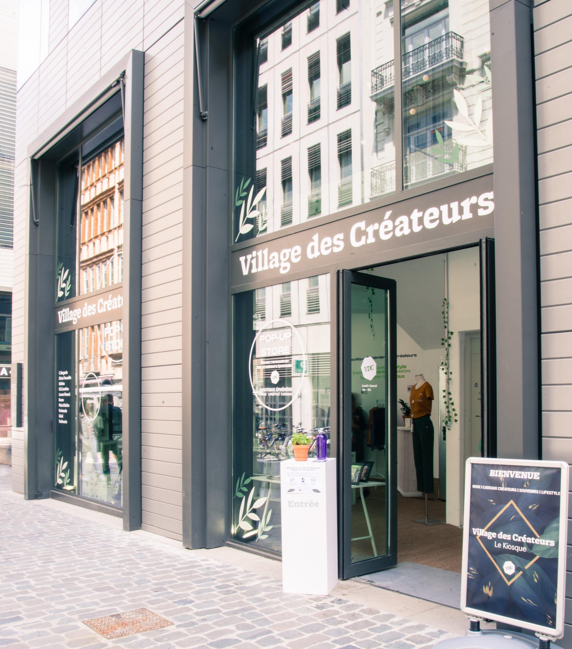 pop-up store village des créateurs Grand Hôtel Dieu à Lyon