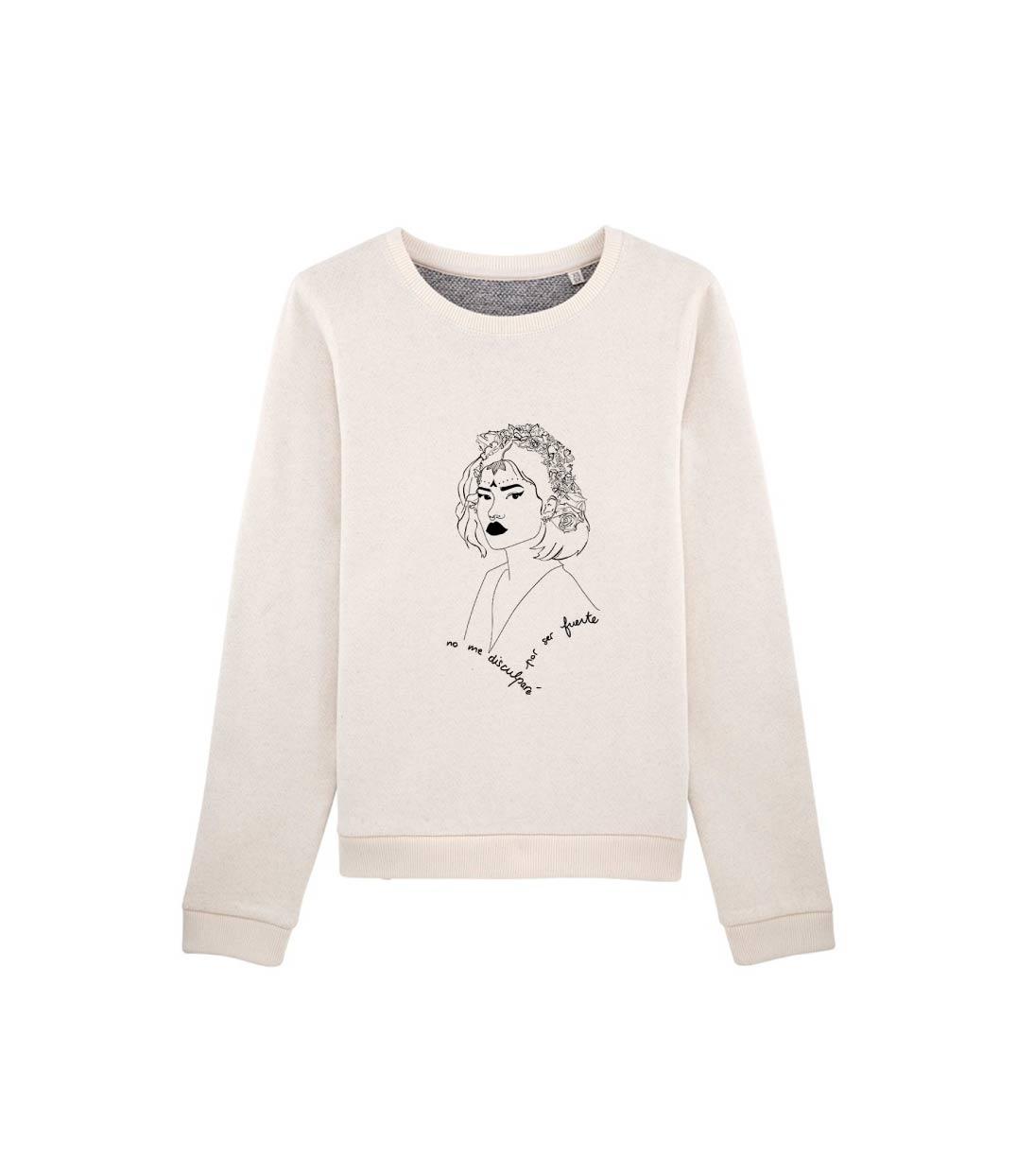 mockup sweatshirt creme vintage leonor roversi