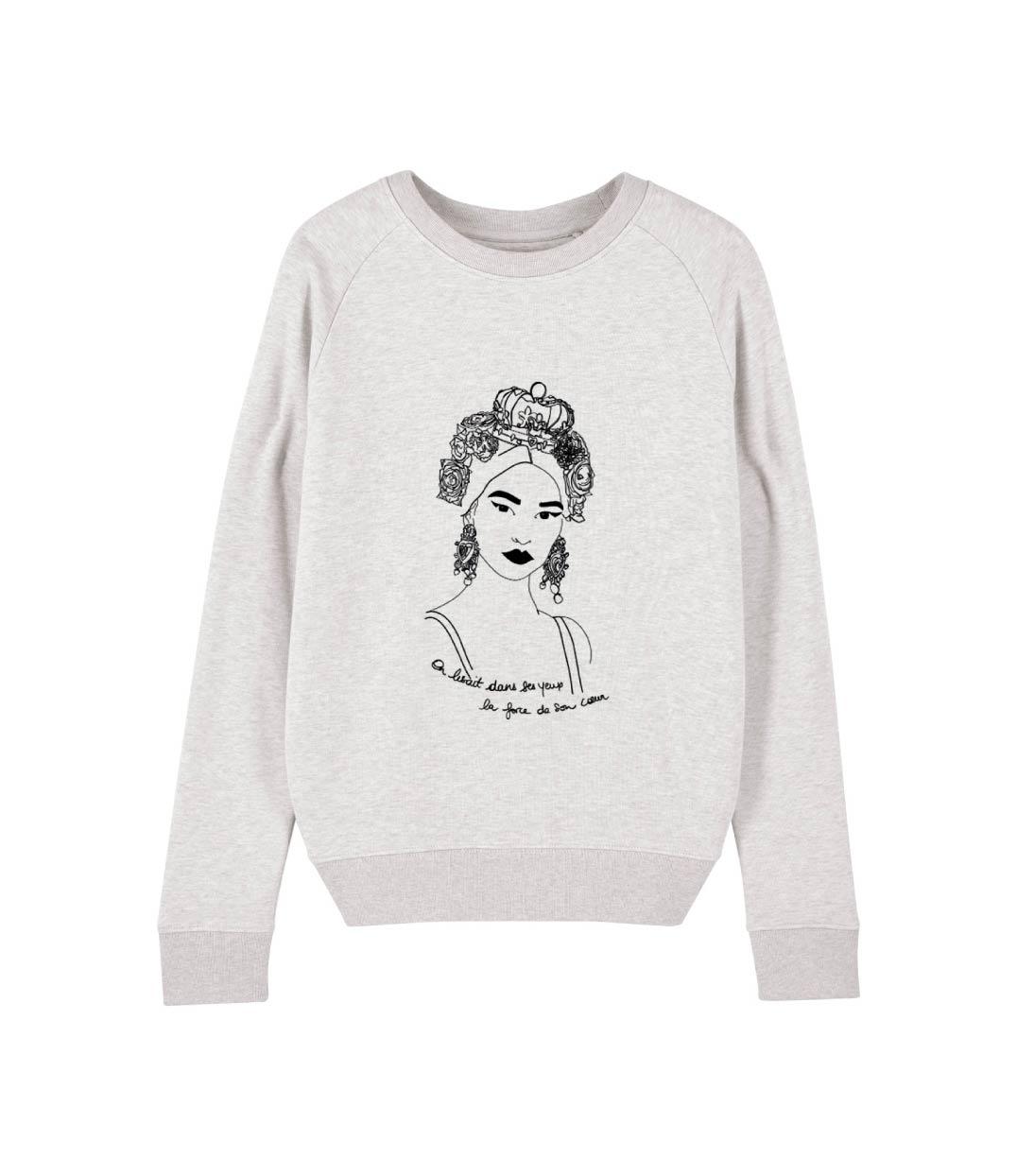 mock up sweatshirt crème esperanza leonor roversi