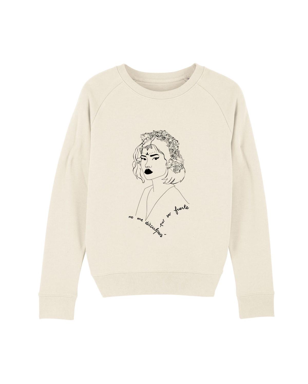 Image site sweatshirt avant crème lupita leonor roversi