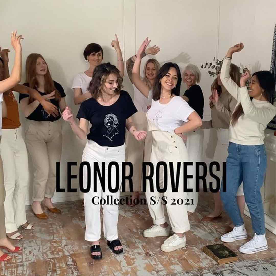 femmes dansant avec des tshirt Leonor Roversi