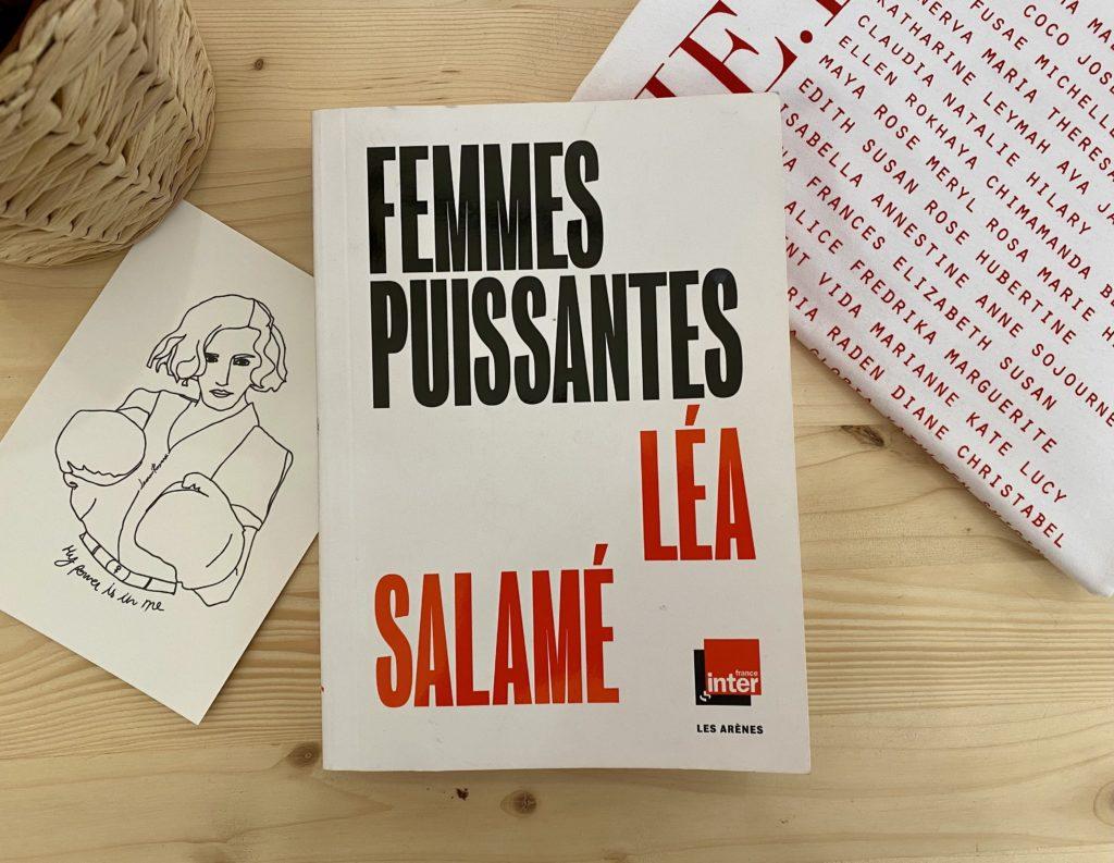 photo à plat couverture livre femmes puissantes de léa salamé par Leonor Roversi
