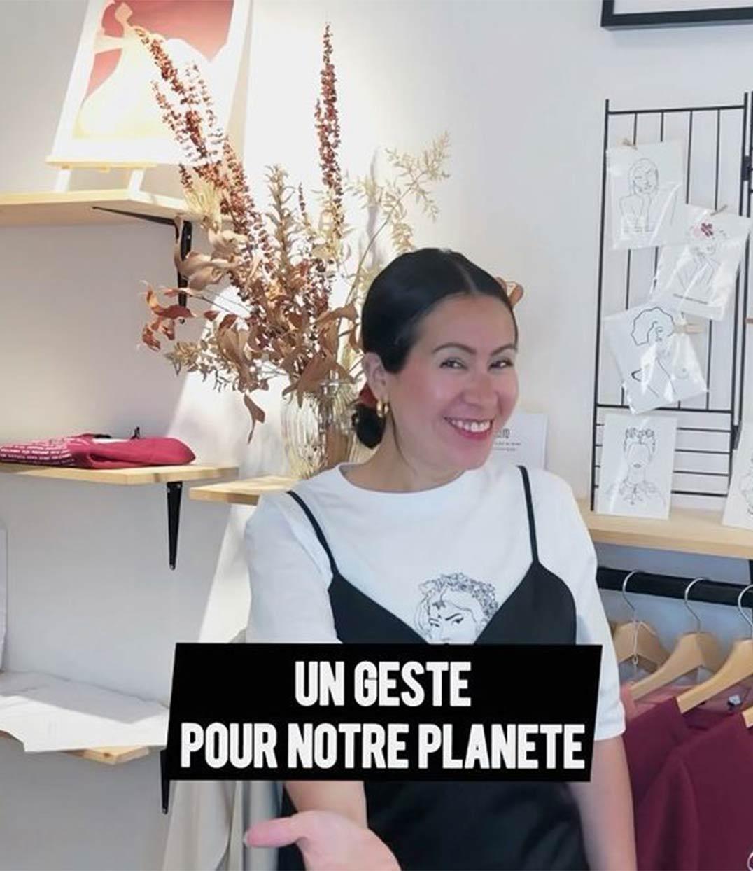 vidéo geste pour notre planete écologie leonor roversi